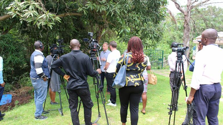 Robin Maynard and Lagos media, World Population Day 2019
