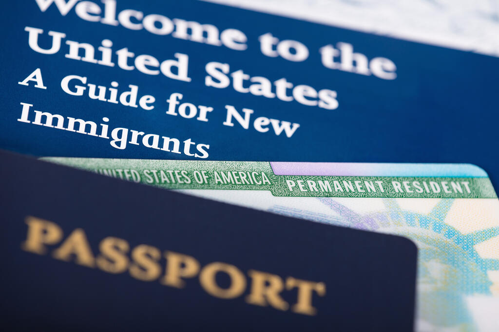 US passport and immigration documents