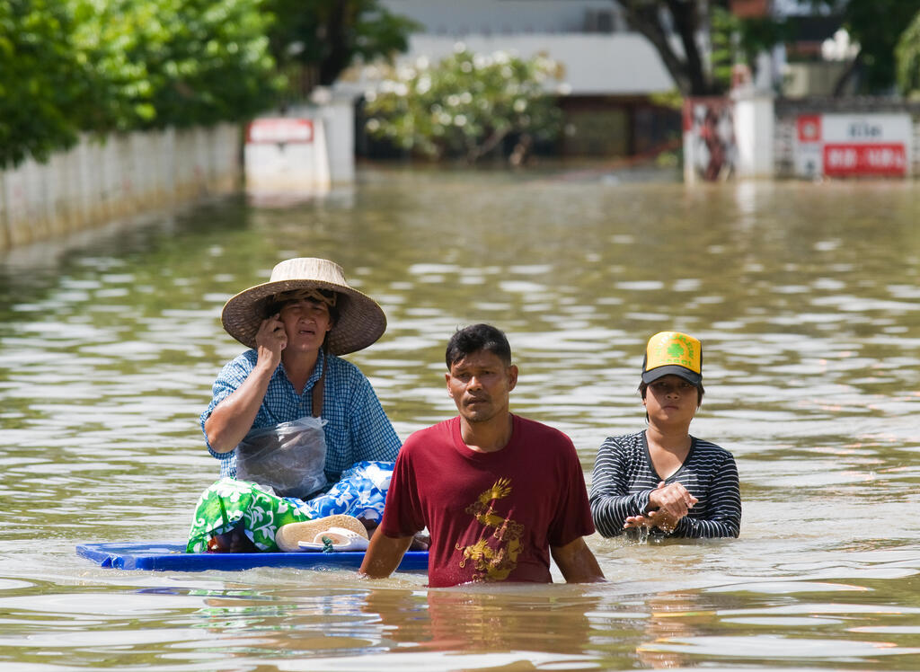 Climate change - flooding in Thailand