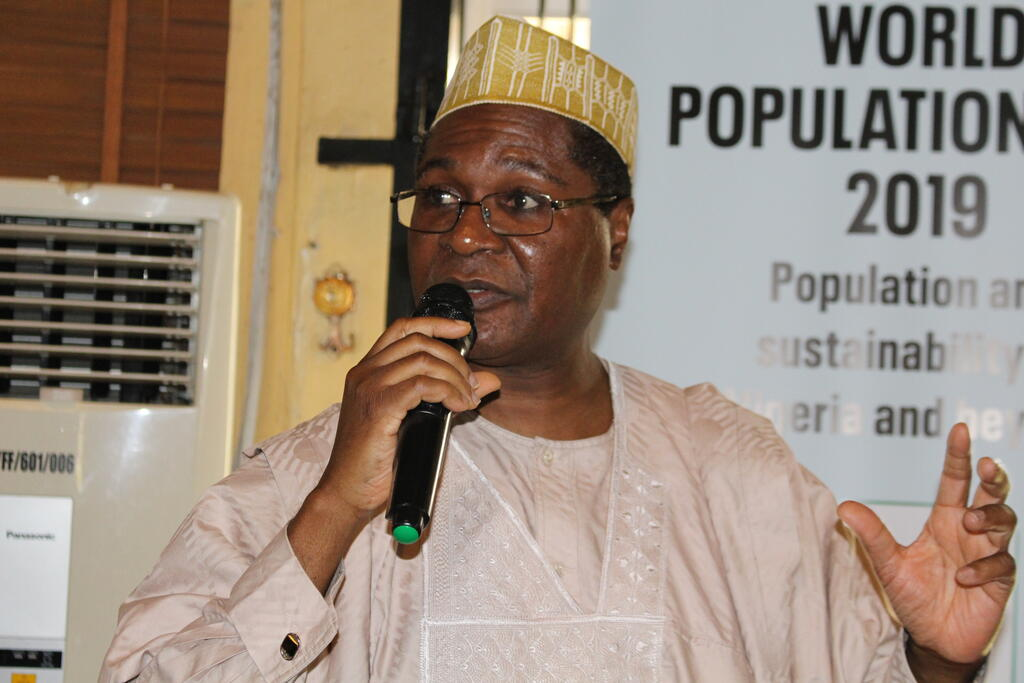 Dr Aminu-Kano, director, Nigerian Conservation Foundation