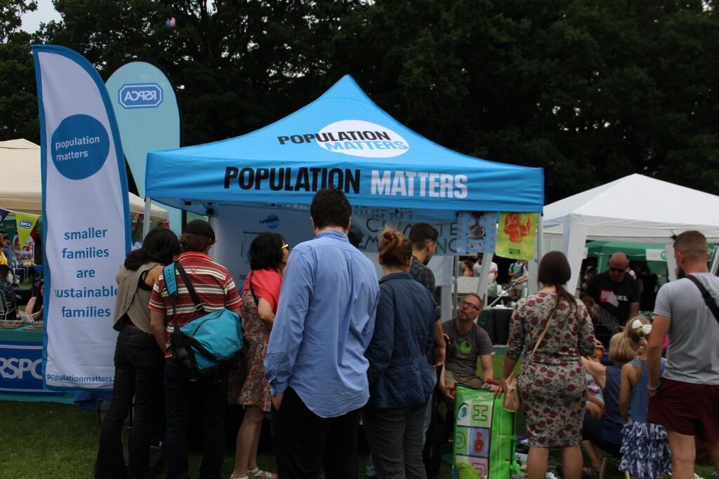 Population Matters Local Groups