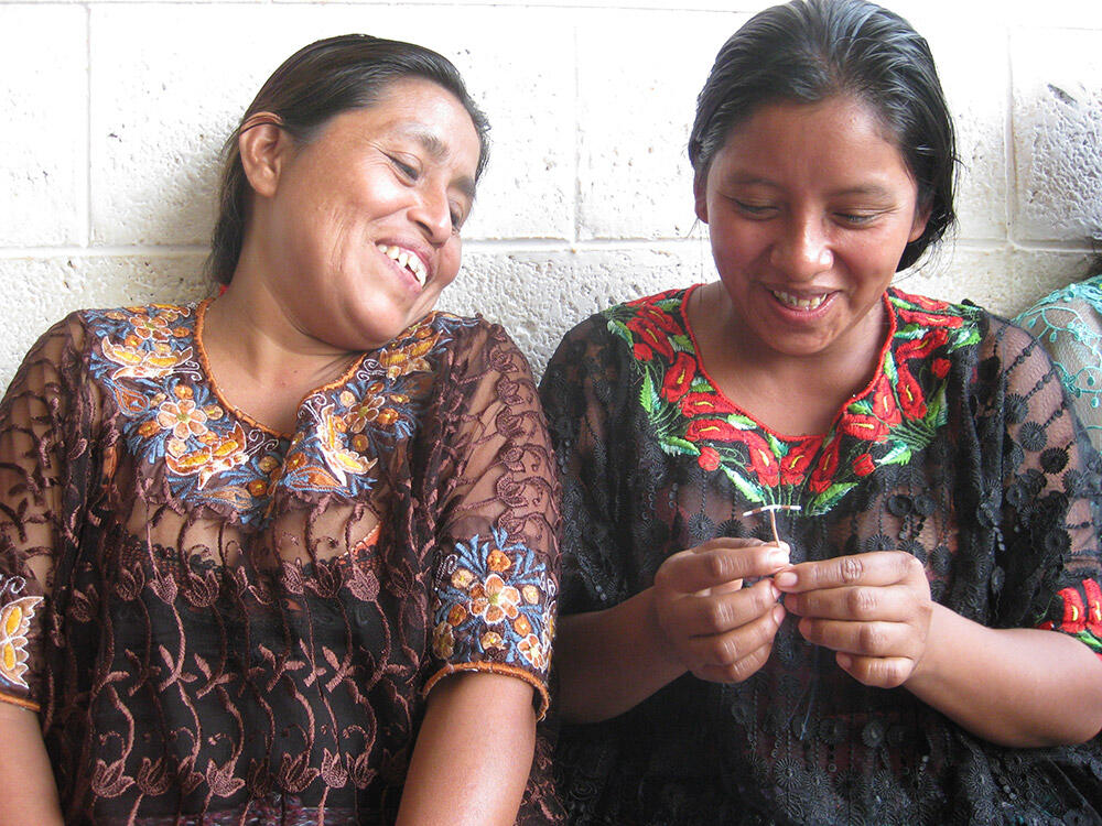 Guatemalan women with IUD