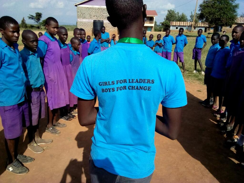 Boys for Change tshirt